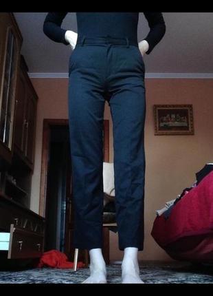 Новые брюки,класика,высокая посадка,клеш,кюлоты