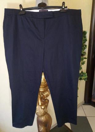 Зауженные,комфортные стрейчевые брюки большого размера