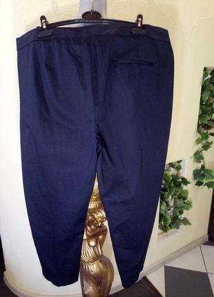 Зауженные,комфортные стрейчевые брюки большого размера2