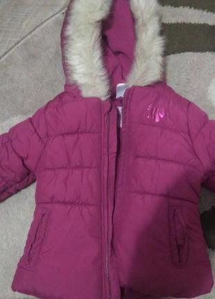 Куртка 80 см. тепла зима,холодна весна осінь