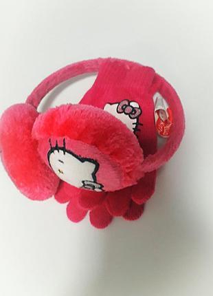 Комплект перчатки и наушники