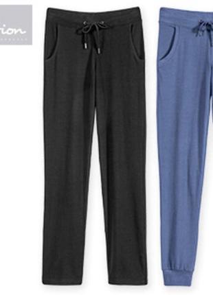 Спортивные или домашние штаны брюки джоггеры, биохлопок, blue motion германия