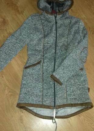 Утепленная куртка парка