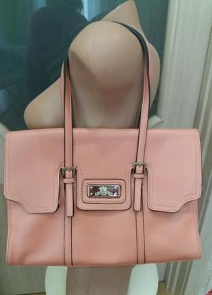Новая пудровая сумка из экокожи