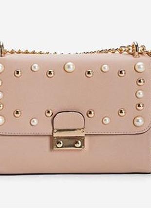 Распродажа!мини сумочка,сумка stradivarius,кросс боди на цепочке.