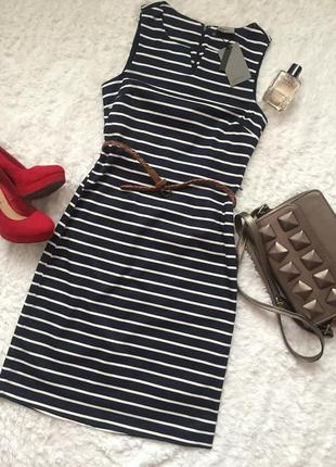Плаття сарафан джинс