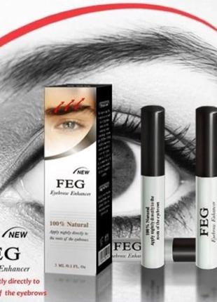 Feg eyebrow enhancer оригинал - средство для роста бровей фег2 фото