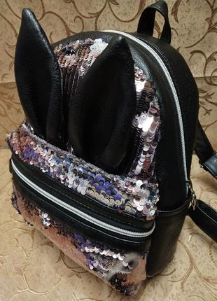 Женский рюкзак эко-кожа д41