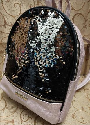 Женский рюкзак эко-кожа д45