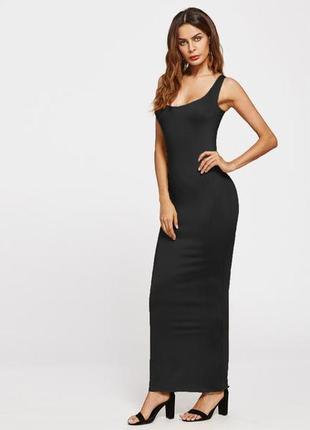Сексуальное длинное платье