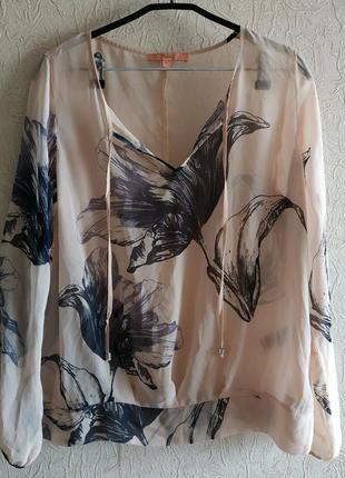 Блузка под кожаные лосины next 14р