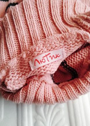 Теплый костюм лютик (свитер и штаны)5