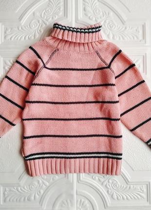 Теплый костюм лютик (свитер и штаны)4