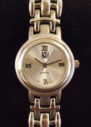 Maurices стильные часы из сша механизм japan sii