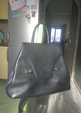 Кожаная сумка-рюкзак mazarin