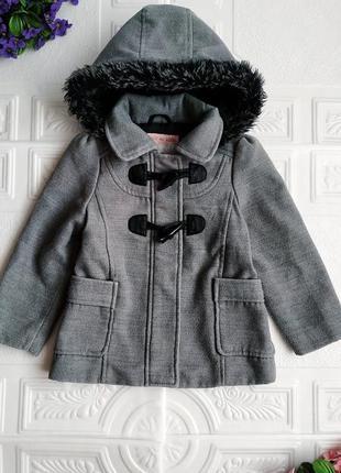 Демисезонное пальто дафлкот girl2girl