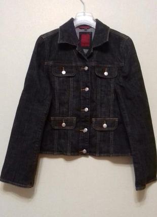 Куртка джинсовая ветровка пиджак размер 36
