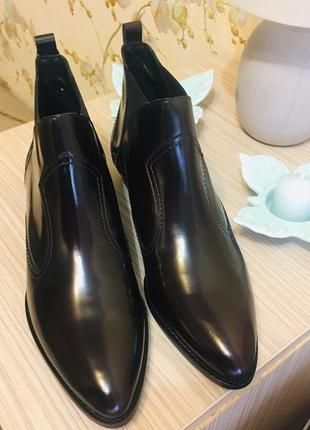 Ботинки, полуботинки massimo dutti челси 41р
