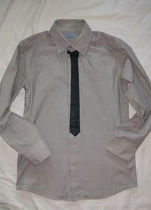 Стильная рубашка на мальчика 11-12 лет,152 см,от f&f