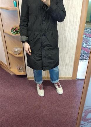 Стеганная пальто burton