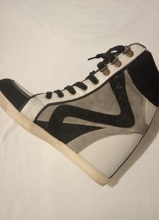 New look сникерсы фирменные кроссовки3 фото