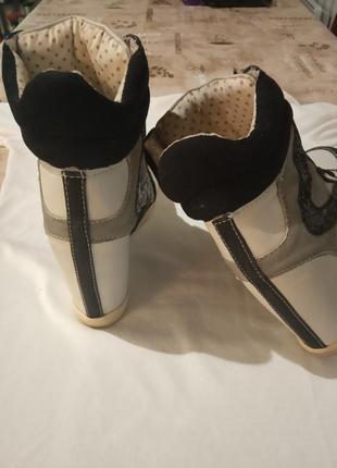 New look сникерсы фирменные кроссовки4 фото