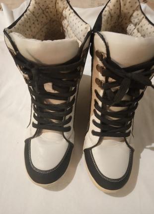 New look сникерсы фирменные кроссовки5 фото