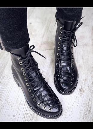 Новые ботинки натуральная кожа