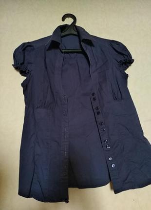 Котоновая рубашка terranova