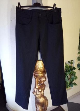 Классические зауженные брюки слим,《топ мен》