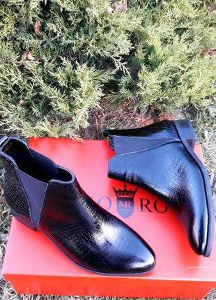 Крытые ботинки от марко росси 36, 37, 38, 40