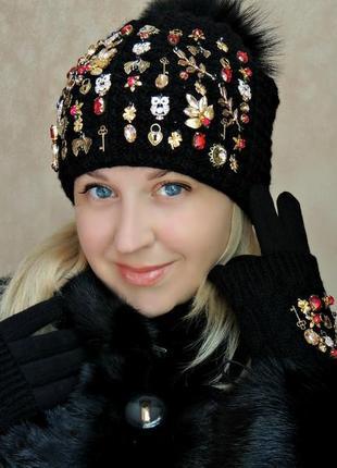 Супермодная шапка.1