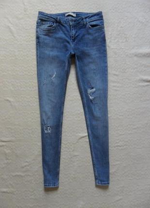 Стильные джинсы скинни zara, 36 размер .