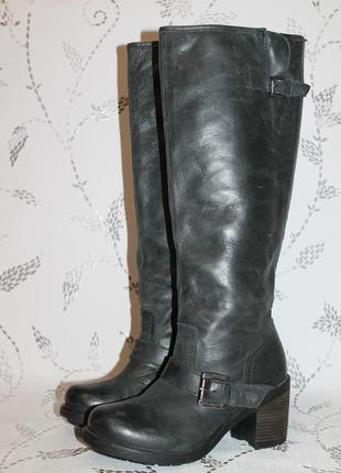 Комфортные кожаные сапоги ellos 38 размер