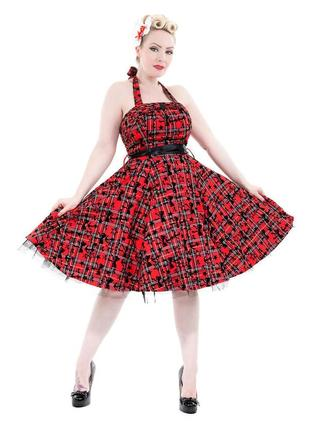 Актуальное платье в стиле 50-х годов pin-up