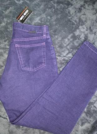 Супер фиолетовые джинсы mish mash
