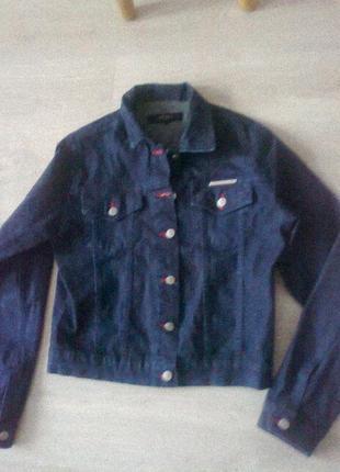 Джинсовая куртка*пиджак*бренд  jasper conran