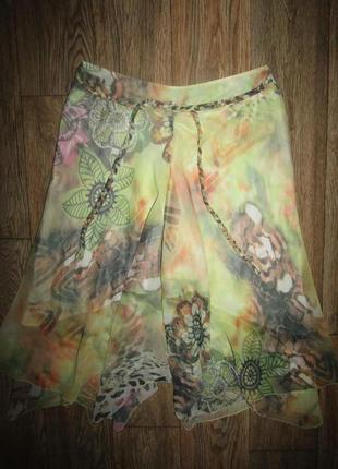 Красивая юбка р-р л-14 бренд bandolera