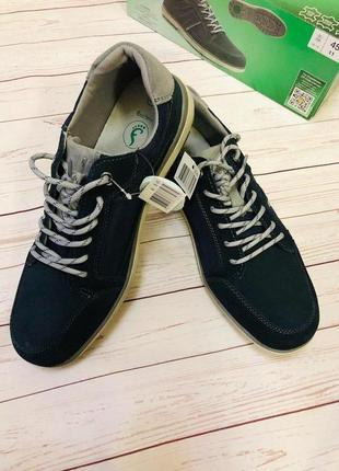 Классные кеды туфли кроссовки 45 размер натуральная замша флекс
