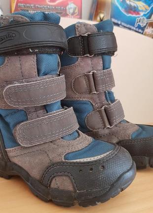 Superfit зимние ботинки р.24