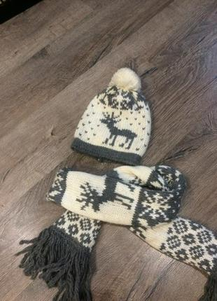 Шапкаи шарф benetton