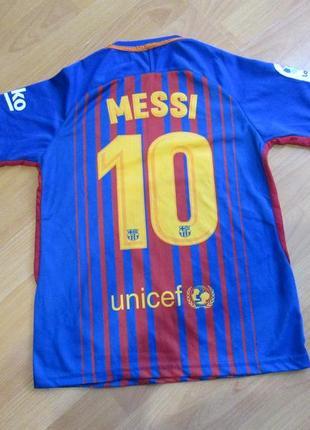 Футболка футбольная барселона, месси, nike, messi8 фото