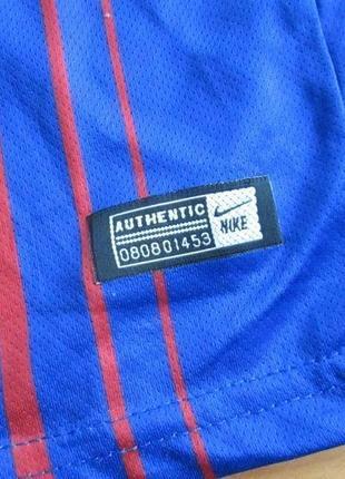 Футболка футбольная барселона, месси, nike, messi7 фото