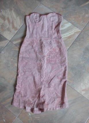 Корсетное платье от stefanel, италия