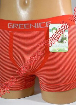Трусы мужские бесшовные greenice арт.7648