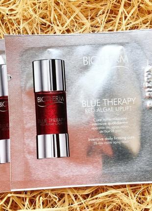 Biotherm blue therapy red algae lift  интенсивная антивозрастная сыворотка для лица