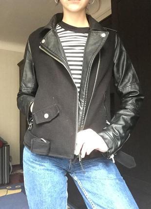 Крутая куртка из искусственной кожи от tally weijl