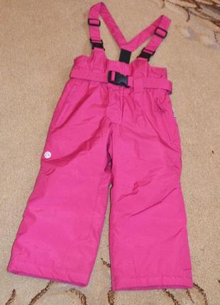 Термо брюки лыжные polochon by etirel р.3 года 98 см