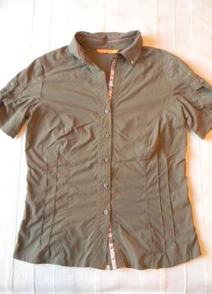 Жен.треккинговая  рубашка allsport
