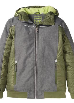 Утепленная софтшелл куртка для мальчика. германия. 146-152